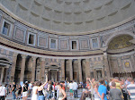 This might give you an inkling as to the colossal size of the Pantheon