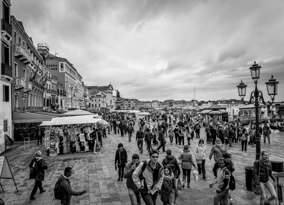 Ambling near Piazza San Marco