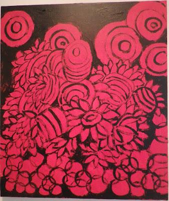 [夜とイソギンチャク] - 伊藤洋子の美術