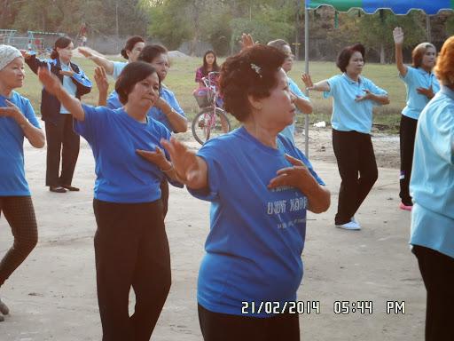 ขยับกายสบายชีวีกลุ่มทุ่งศรีเมือง กาฬสินธุ์