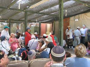 בית חגלה - מרכז המבקרים של יריחו