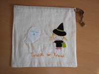 bolsa truco o trato/trick or treat bag