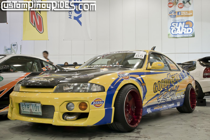 Mexiflush Autocraft Drift Goodyear Racing R33 Nissan Skyline Norman Agojo Custom Pinoy Rides pic1