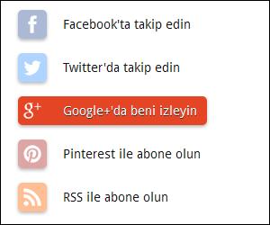 sosyal medya takipci butonu