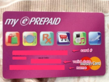 how to add prepaid card to paypal