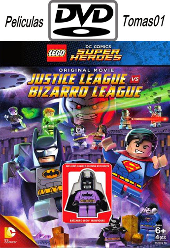 Lego Batman: Justice League vs. Bizarro League (2015) DVDRip