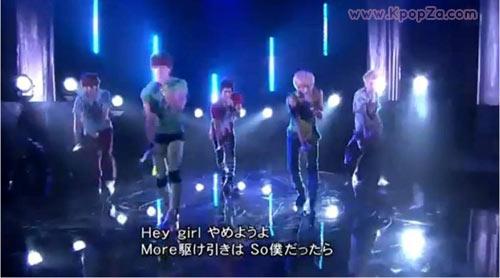 """คลิป SHINee แสดง """"JULIETTE"""" ในรายการ Music Fair ประเทศญี่ปุ่น"""