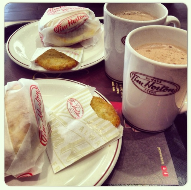 breakfast at tim hortons lady her sweet escapes
