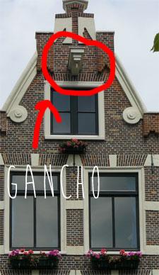 Casas con gancho en Amsterdam
