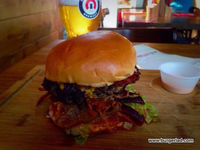 Red Dog Saloon The Punisher Burger Review