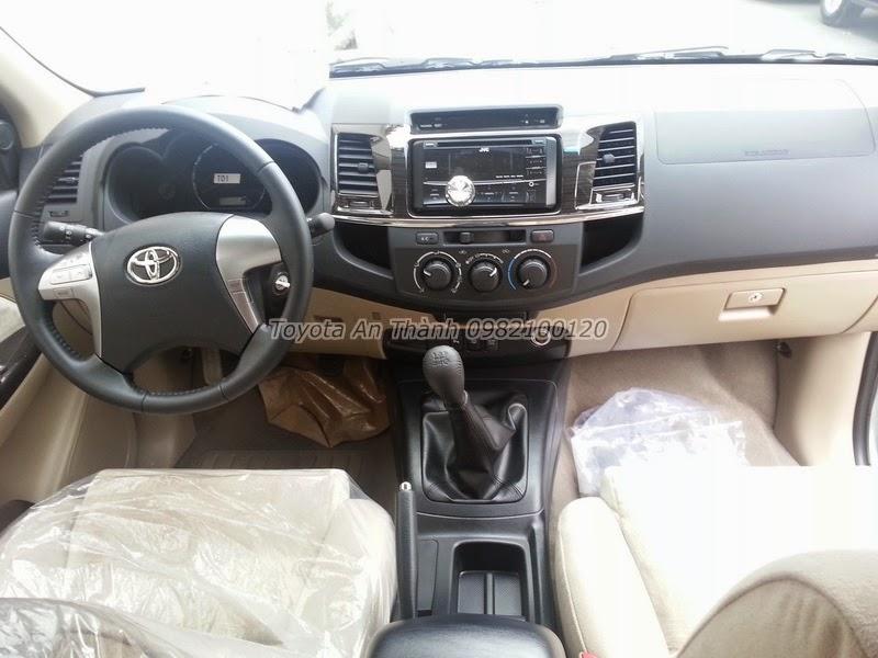 Khuyến Mãi Giá Xe Toyota Fortuner 2.5G 2015 Máy Dầu Số Sàn 4