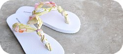 Thumbnail image for Tutorial ~ The Knot So Hard Flip Flop Diy