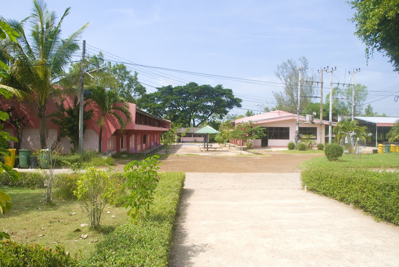 Thai school grounds