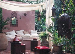 simply home ideas the moroccan balcony ideas. Black Bedroom Furniture Sets. Home Design Ideas