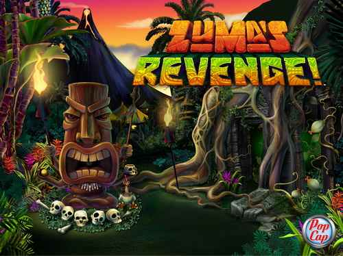 Free Download Zuma Revenge! 3D Full Version