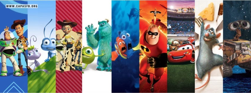 Capas para Facebook Pixar Collection