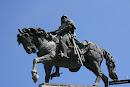Foto de la Estatua ecuestre de Jaume I en El Parterre