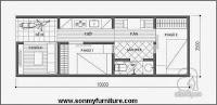 Tư vấn cải tạo nhà cấp 4 cho gia đình 4 người, DT 3,5x10m