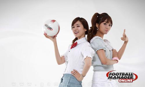 Ngắm nữ GM xinh đẹp của Football Manager Online 6