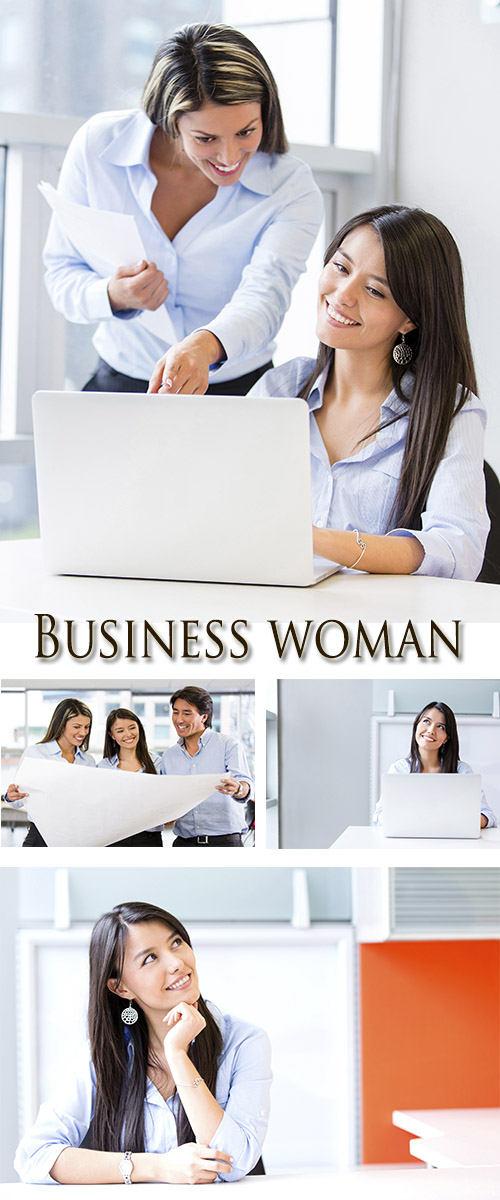Stock Photo: Business woman 14