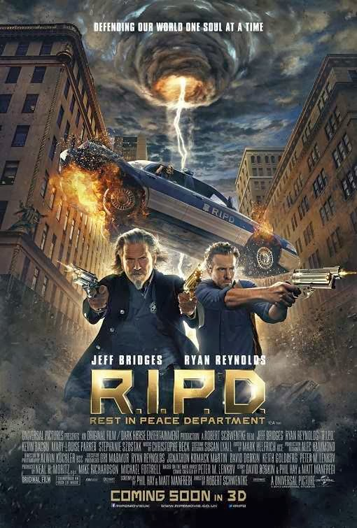 Poster Of R.I.P.D. (2013) Full Movie Hindi Dubbed Free Download Watch Online At Alldownloads4u.Com