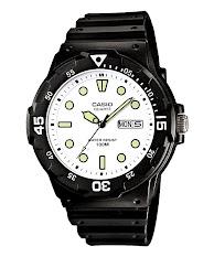 Jam Tangan Pria Tali Kulit Cokelat Casio Standard : MTP-V300GL-9A
