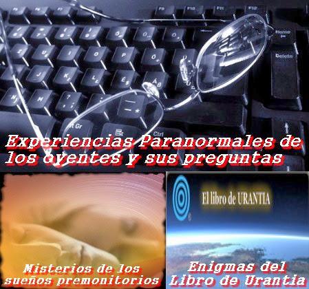 Experiencias de los oyentes – Misterios de los Sueños Premonitorios - El Libro de Urantia - 30/3/2014 – MADLR 10x29
