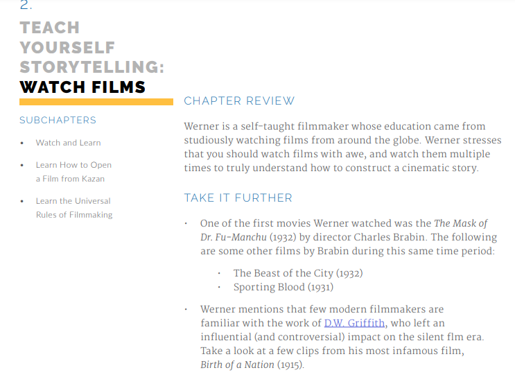 Werner Herzog Masterclass Review: Watch Films