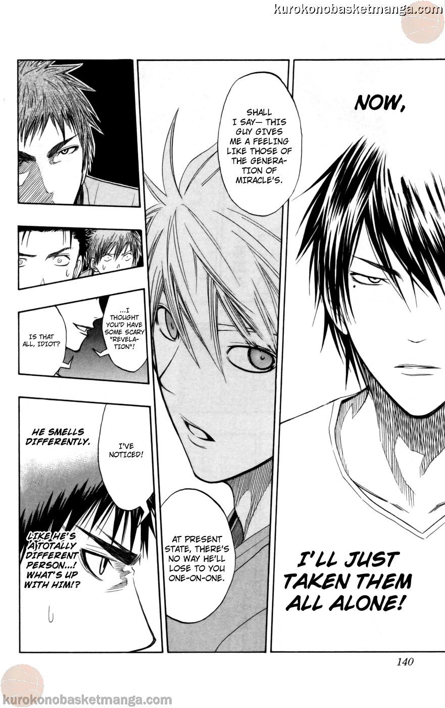 Kuroko no Basket Manga Chapter 77 - Image 14