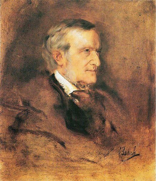 Franz von Lenbach - Portrait of Richard Wagner