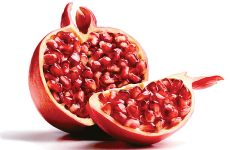 Fruit with seeds