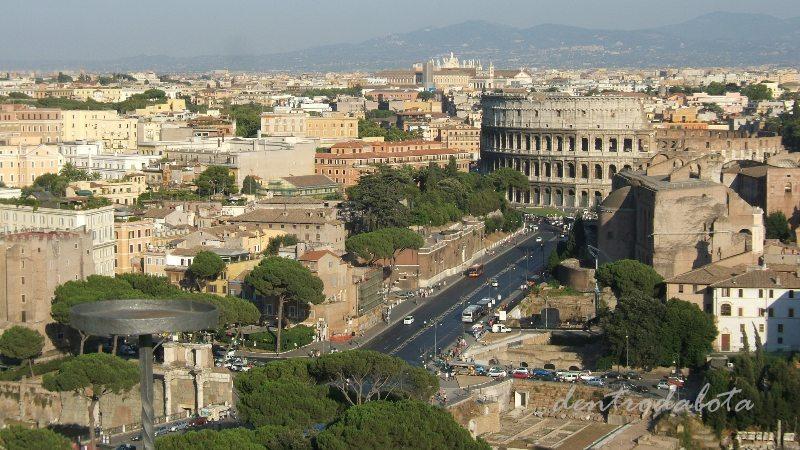 Dentro da Bota: Roma - Vista Panorâmica