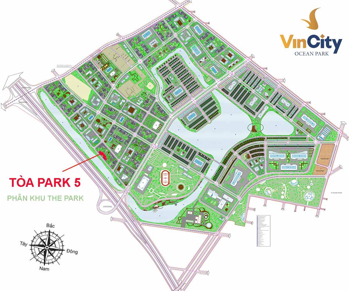 Tòa Park 5 VinCity Ocean Park Gia Lâm