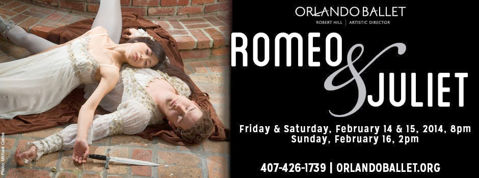 Orlando Ballet Romeo and Juliet
