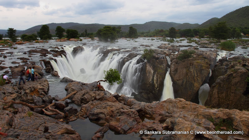 Hogenakkal Falls - also known as the Niagara of India