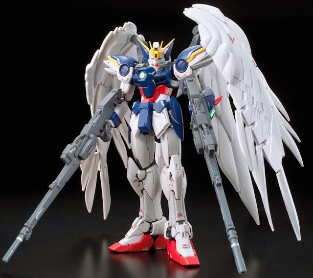 Wing Gundam Zero Endless Waltz tỷ lệ RG 1/144 kích thước khi hoàn thành cao ~ 13 cm