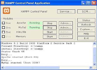 Xampp Start