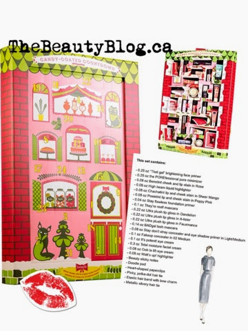 Benefit holiday advent 2014 miniatures