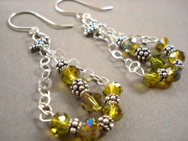 Jewelry Design Tip Bali Sterling Silver And Crystal Earrings The Beading Gem S Journal