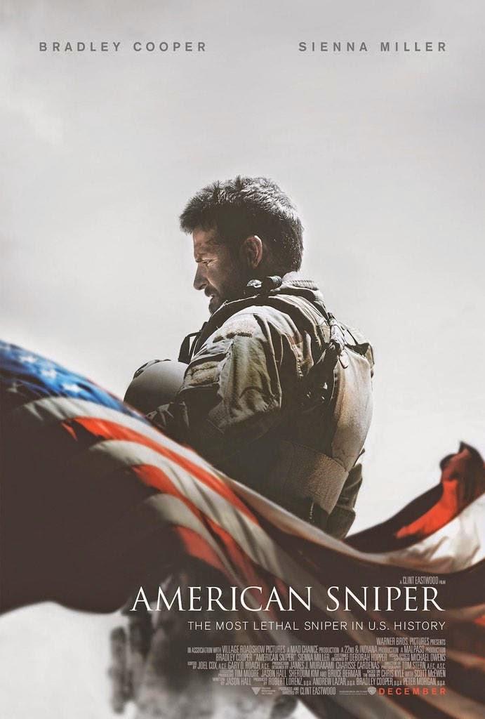 Ελεύθερος Σκοπευτής (American Sniper) Poster