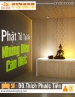Phật Tử Tại Gia Những Điều Cần Biết - KT10