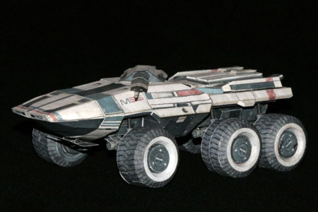 Mass Effect M35 Mako Papercraft