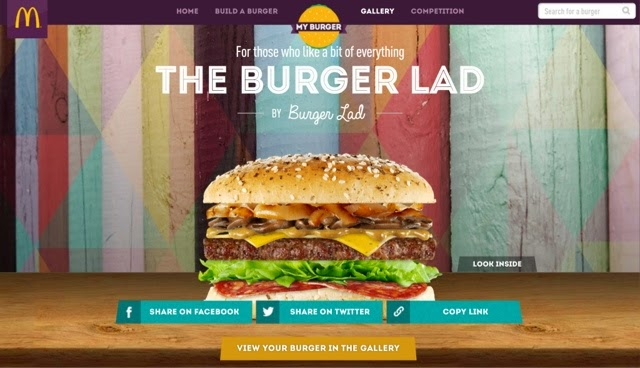 McDonald's My Burger UK