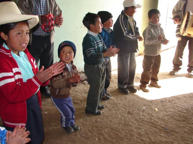 Niños en Cushcanday