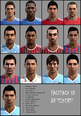 facepackbyteiker17 PES 2012: Mega Facepack Internacional