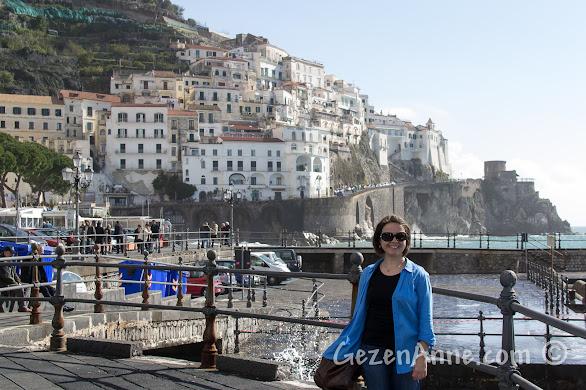 Amalfi sahilde