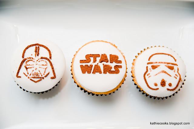 Kathie Cooks Star Wars Cupcakes