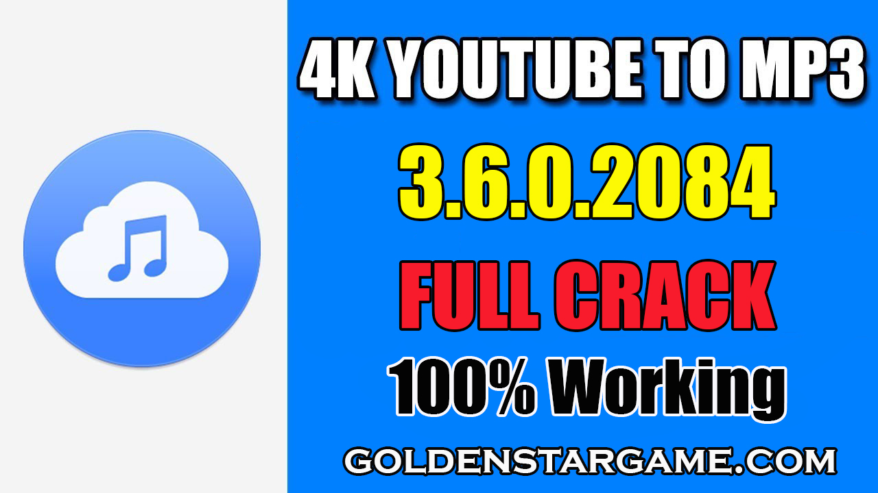 4K YouTube to MP3 3.6.0.2084 License Key Full Version 2019 (100% Working)