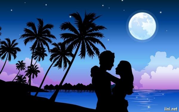 Thơ Biển về Đêm hay, chùm thơ ngắn Biển tình cô đơn & lãng mạn
