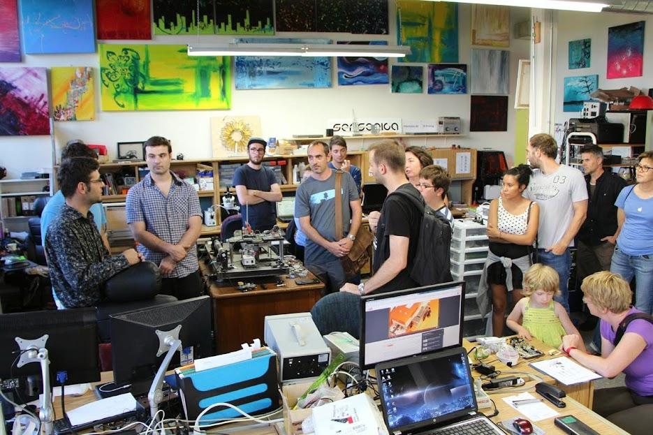 SENSORICA Montreal lab, September 2014
